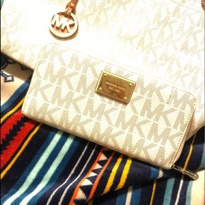 Michael Kors monogram wallet